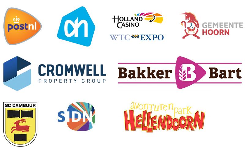 Deze bedrijven lieten al een EML uitvoeren: PostNL, Holland Casino, Gemeente Hoorn, Cromwell, Bakker Bart, SC Cambuur, Avonturenpark Hellendoorn, SIDN