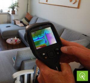 Energie adviseurs Energie Inspectie krijgen blowerdoortest training
