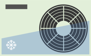 Extra energieverbruik in warme zomers door airconditioning