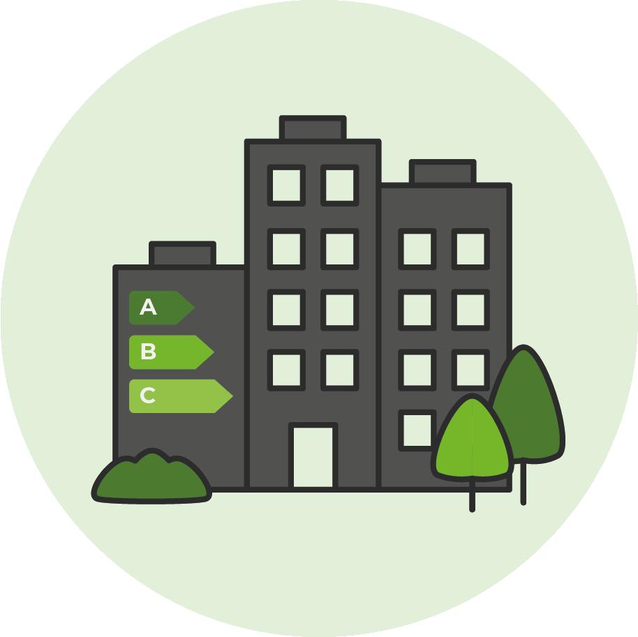 Vanaf 2023 is minimaal energielabel C verplicht voor kantoren