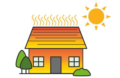 Isoleren om uw woning koel te houden tijdens een hittegolf