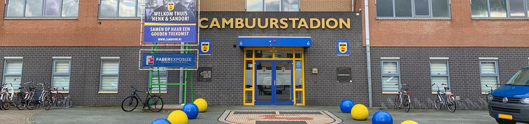 Project: EML informatieplicht voor het oude Cambuurstadion