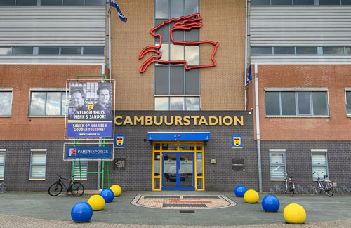 Case EML service Cambuurstadion Leeuwarden