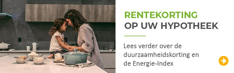 Lees meer over de rentekorting voor energiezuinige woningen en waarom de Energie-Index belangrijk is.