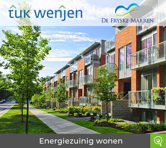 Project Tûk Wenjen: energiezuinig wonen voor woningeigenaren gemeente Fryske Marren