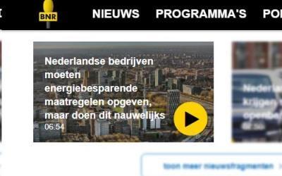 BNR Nieuwsradio belicht energieaangifte