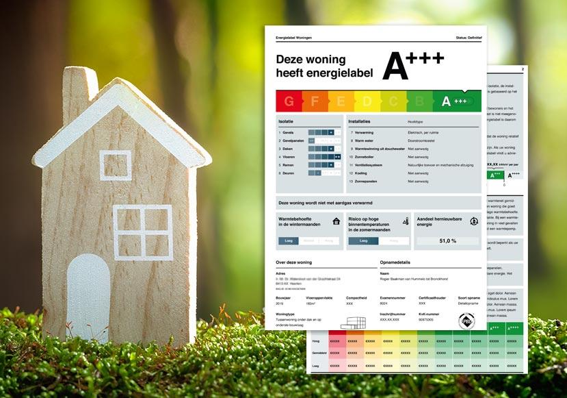 Energielabel aanvragen voor rentekorting hypotheek