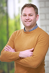 Chris: accountmanager duurzaamheid